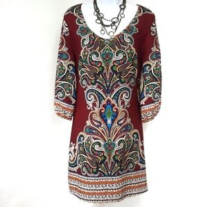 Gibson Latimer Shift Dress EUC